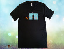 "Load image into Gallery viewer, ""Dog Hair is my Glitter"" Funny Sayings T shirt"