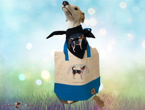 """Puppy Pride"" Tote Bag for Pet Accessories"