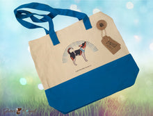 "Load image into Gallery viewer, ""Puppy Pride"" Tote Bag for Pet Accessories"