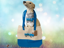 "Load image into Gallery viewer, ""Wagn My Way"" Tote for Dog Accessories and More"