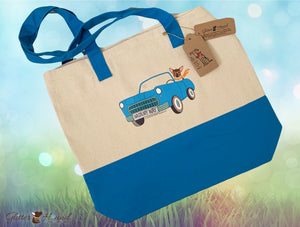 """Wagn My Way"" Tote for Dog Accessories and More"