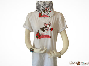 Bandana Store, French Girl Bulldog Graphic