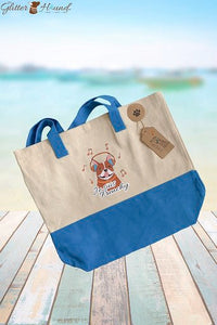 Tote Bags for Women, Cute Bandana and T-Shirt Clothing, French Bulldog Graphics