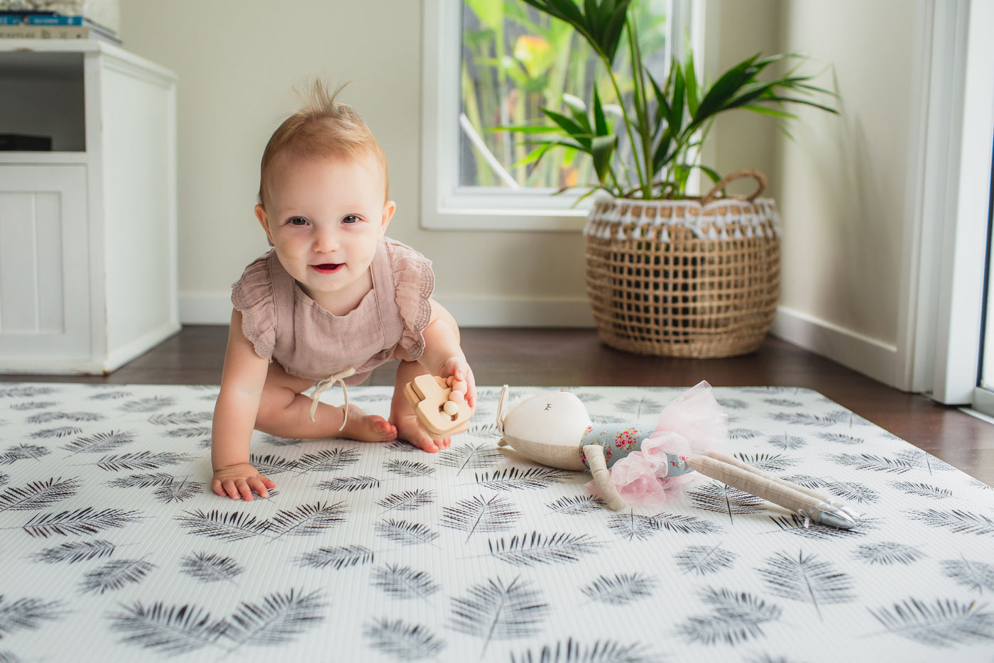 Palm Leaf Luxury Play Mat