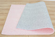 LARGE: Pink Petal / Grey Petal Play Mat