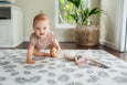 Luxe at Play - Palm Leaf Padded Play Mat