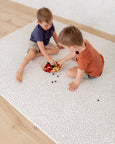 LARGE: Petal / Blush Stripes Play Mat