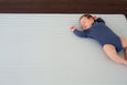Luxe at Play - Grey Stripes Play Mat