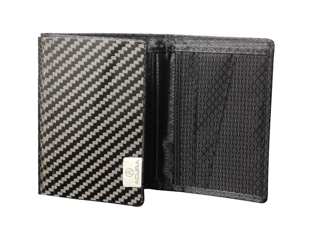 Acura TRI - Carbon Fiber Trifold Wallet