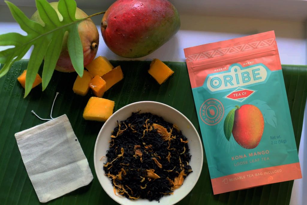 Kona Mango Tea Ingredients