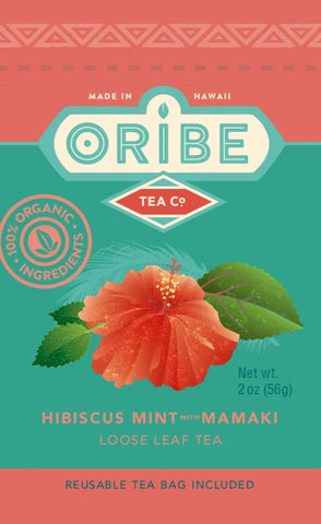 Hibiscus Mint Mamaki Tea Package