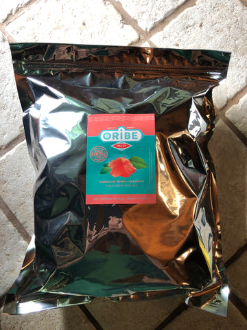 Wholesale/Bulk Tea Organic Hibiscus Mint with Mamaki Iced Tea