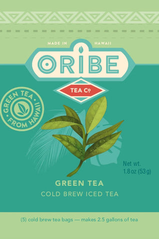 Green Tea Package Front