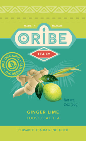 Ginger Lime Tea Package Front