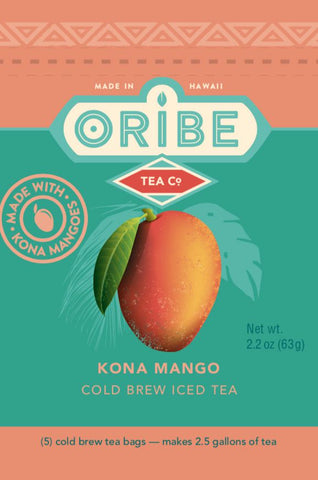 Kona Mango Black Tea Package Front