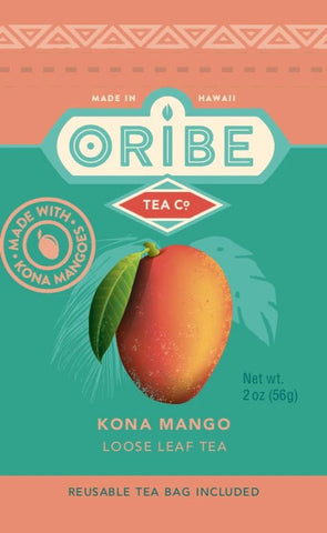Kona Mango Black Tea Loose Leaf frnt