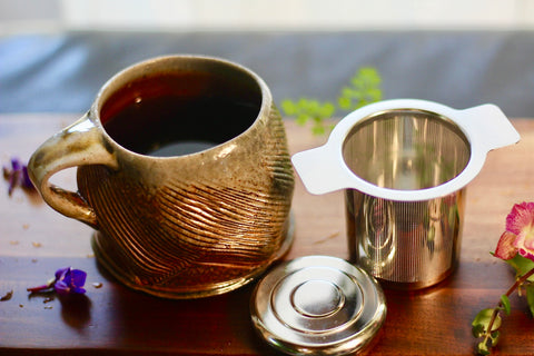 Stainless Steel Brewing Cup for Loose Leaf Teas