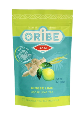 Ginger Lime | Loose Leaf Tea