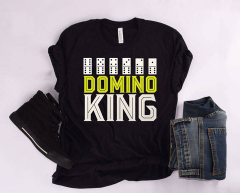 """DOMINO KING"" T Shirt"