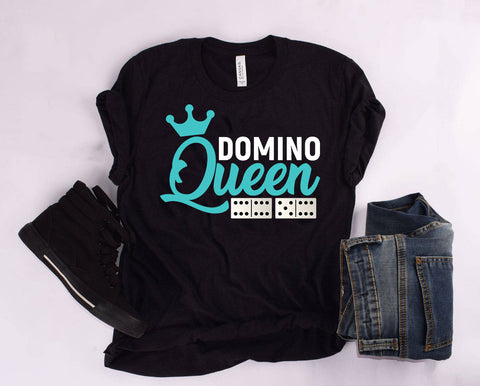 """DOMINO QUEEN"" T Shirt"