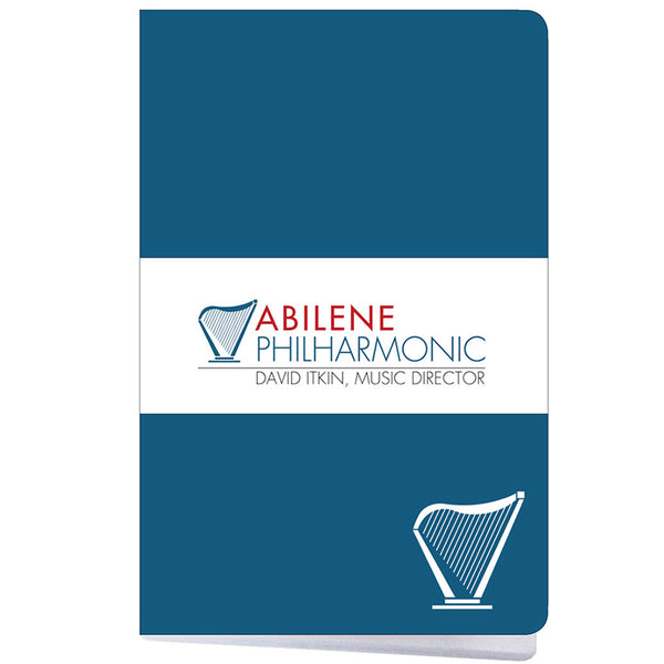 Abilene Philharmonic Notebook, Blue