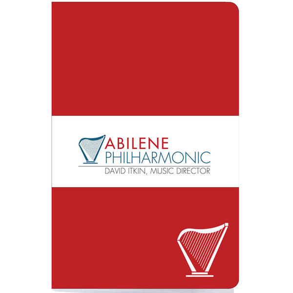 Abilene Philharmonic Notebook, Red