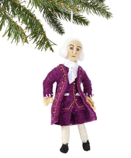 Bach Felt Ornament