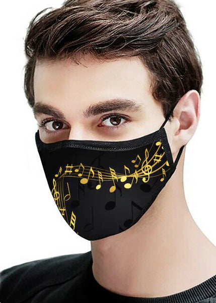 Field of Musical Dreams Face Mask