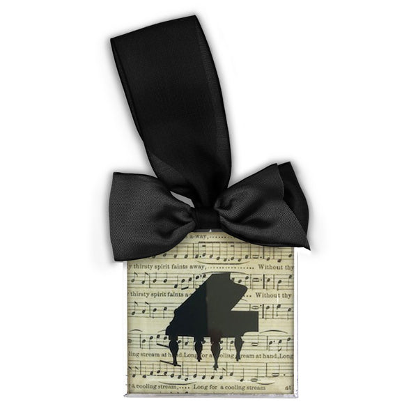 Piano Silhouette Ornament