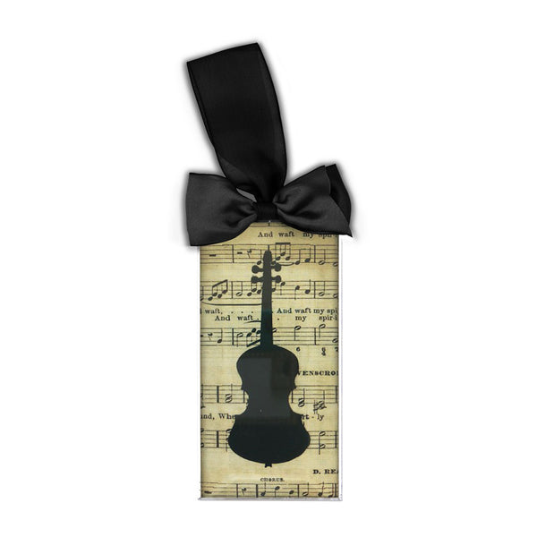 Violin Silhouette Ornament