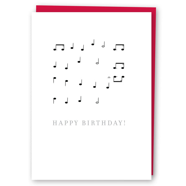 Music Notes Happy Birthday