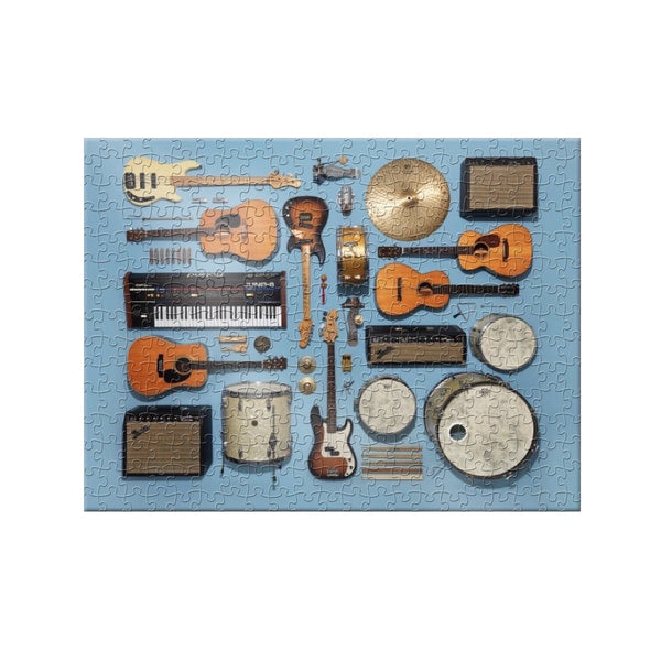 Instrument Collection 500-Piece Puzzle