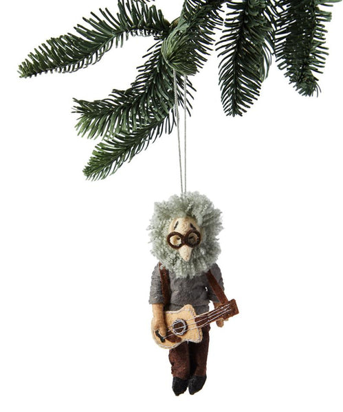 Jerry Garcia Felt Ornament