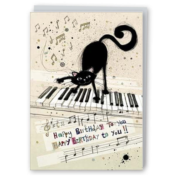Piano Cat Happy Birthday