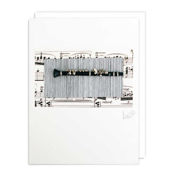 Clarinet Art Card