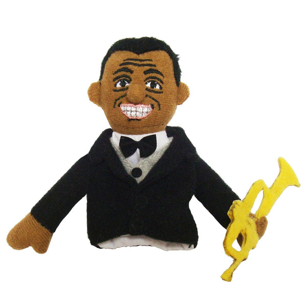 Louis Armstrong Finger Puppet Magnet