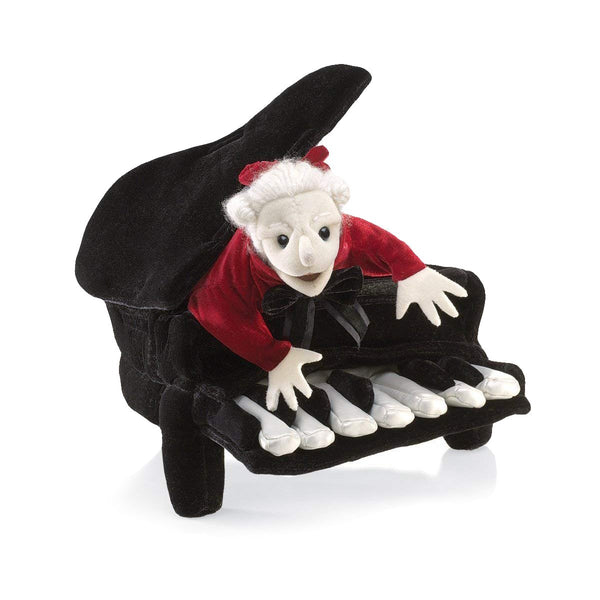 Mozart in Piano Hand Puppet