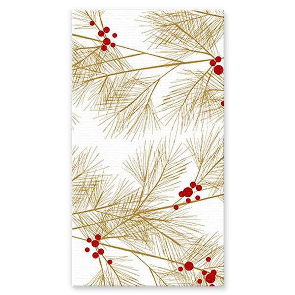 Winter Gold Buffet/Guest Towel