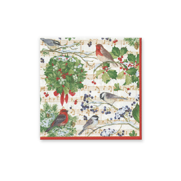 Winter Song Beverage Napkins