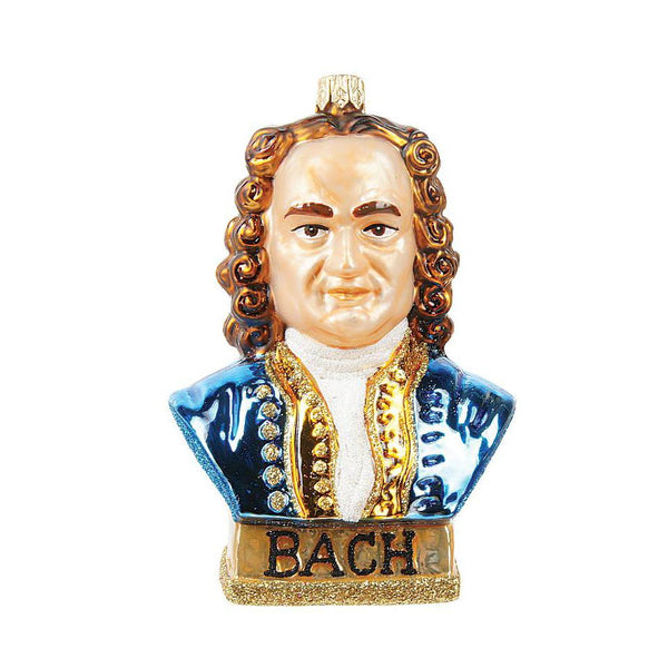 Bach Blown Glass Ornament