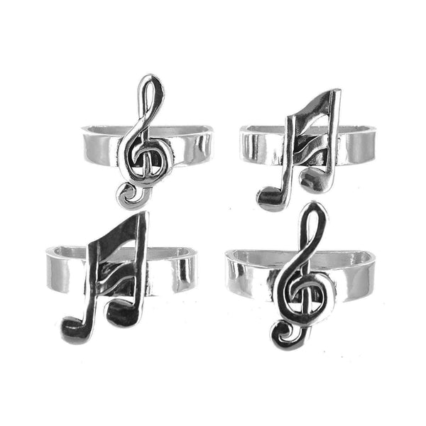 Music Note Napkin Rings
