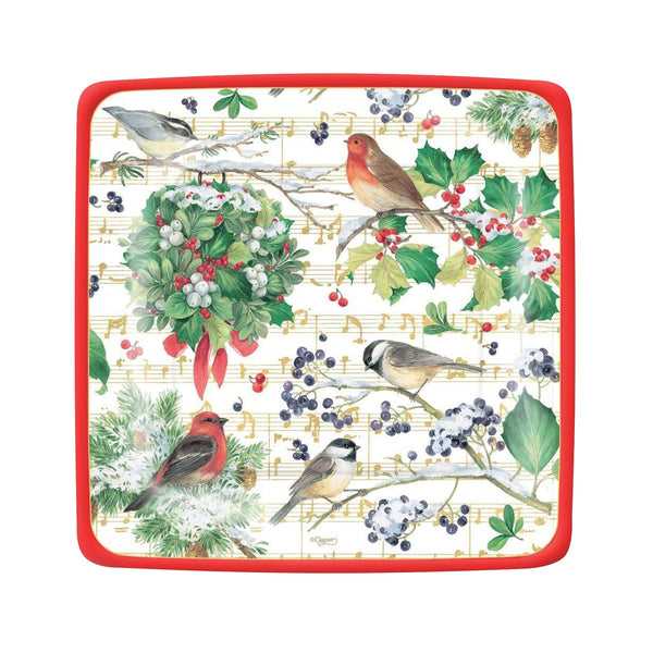 Winter Song Salad/Dessert Plates, S/8
