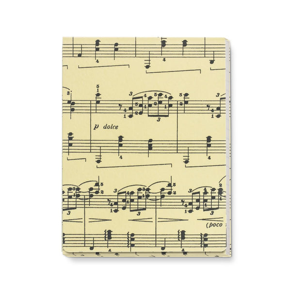 Sheet Music Pocket Notebook