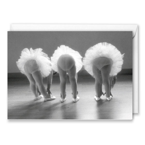 Three Young Ballerinas Birthday