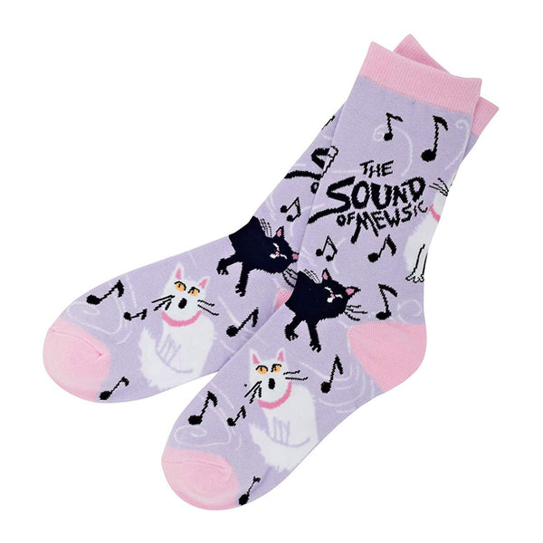Women's 'The Sound of Mewsic' Socks