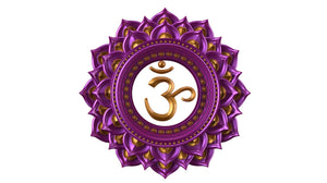 Image of the crown or sahasrara chakra symbol
