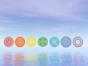 Image of the Chakra symbols