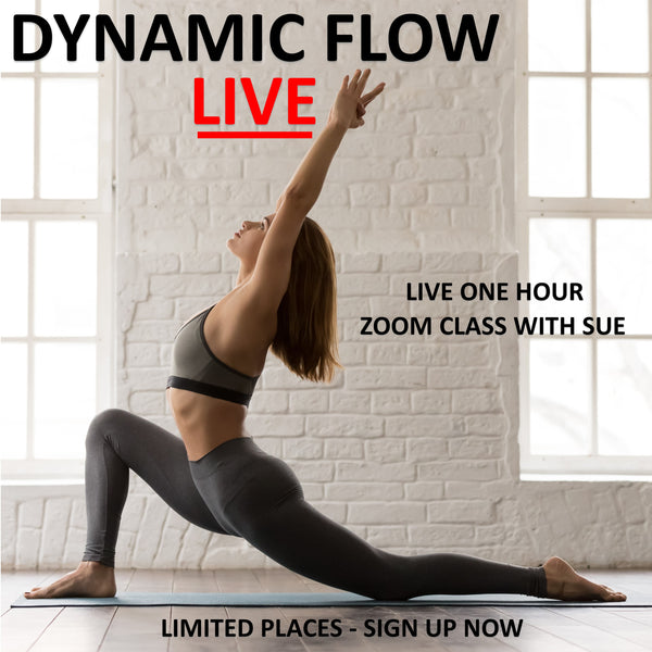 Dynamic Flow and Release Live Zoom Class - Wednesday 3rd June 07:00 am - 08:00 am BST