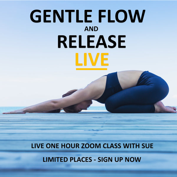 Gentle Flow and Release Live Zoom Class - Tuesday 2nd June 07:00 am - 08:00 am BST