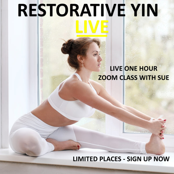 Restorative Yin Live Zoom Class - Thursday June 4th 07:00 am - 08:00 am BST